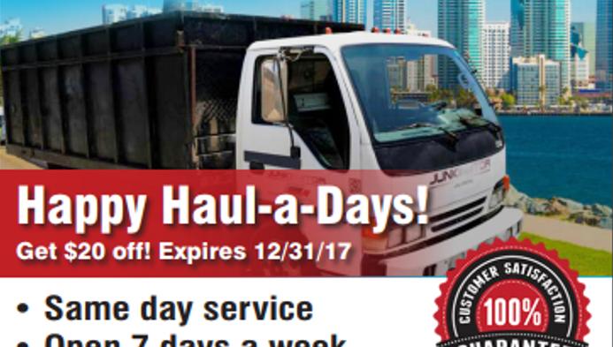 Happy Haul-a-days!